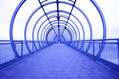 μπλε διάδρομος Στοκ Εικόνες