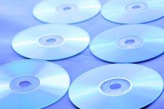 μπλε διάθεση s Cd Στοκ εικόνες με δικαίωμα ελεύθερης χρήσης