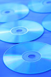μπλε διάθεση s Cd Στοκ φωτογραφία με δικαίωμα ελεύθερης χρήσης