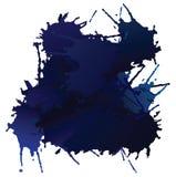 μπλε διάνυσμα λεκέδων Στοκ Φωτογραφία