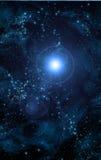 μπλε διάστημα διανυσματική απεικόνιση