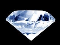 μπλε διαμάντι Στοκ Φωτογραφίες