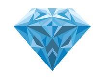 μπλε διαμάντι Στοκ Εικόνα