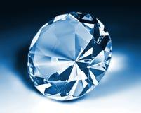 μπλε διαμάντι Στοκ εικόνες με δικαίωμα ελεύθερης χρήσης