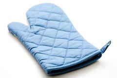 μπλε δοχείο προτύπων γαντιών Στοκ Φωτογραφίες