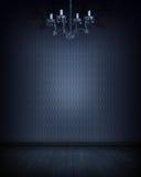 μπλε δωμάτιο Στοκ Εικόνες