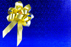 μπλε δώρο Στοκ εικόνες με δικαίωμα ελεύθερης χρήσης