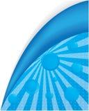μπλε ειδικός ανασκόπηση&sigm Στοκ Εικόνες
