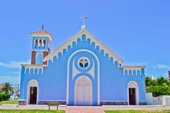 μπλε εκκλησία Στοκ εικόνες με δικαίωμα ελεύθερης χρήσης