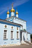 μπλε εκκλησία στοκ φωτογραφίες