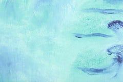 μπλε ελαιογραφία Στοκ Φωτογραφίες