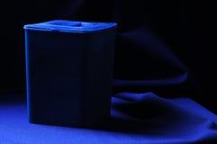 μπλε εμπορευματοκιβώτ&iot Στοκ Εικόνες