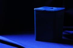 μπλε εμπορευματοκιβώτ&iot Στοκ εικόνες με δικαίωμα ελεύθερης χρήσης