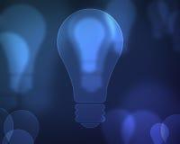μπλε ενέργεια ανασκόπηση& Στοκ Εικόνα