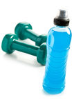 Μπλε ενεργειακό ποτό Στοκ Φωτογραφίες