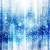 μπλε εορταστικός ανασκό& απεικόνιση αποθεμάτων