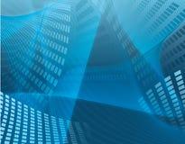 μπλε επιχείρηση ανασκόπη&sigm Στοκ φωτογραφία με δικαίωμα ελεύθερης χρήσης