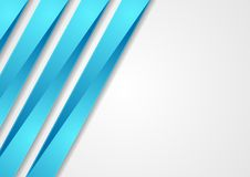 Μπλε εταιρικό υπόβαθρο τεχνολογίας λωρίδων αφηρημένο διανυσματική απεικόνιση