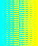 μπλε ημίτονος κίτρινος αν& Στοκ Φωτογραφίες