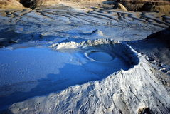 μπλε ηφαίστειο Στοκ εικόνα με δικαίωμα ελεύθερης χρήσης