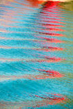 μπλε θάλασσα καμπυλών Στοκ φωτογραφία με δικαίωμα ελεύθερης χρήσης