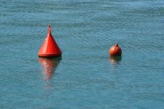 μπλε θάλασσα σημαντήρων Στοκ φωτογραφία με δικαίωμα ελεύθερης χρήσης