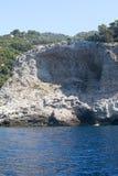 μπλε θάλασσα της Ιταλία&sigma Στοκ εικόνα με δικαίωμα ελεύθερης χρήσης