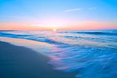 μπλε θάλασσα τοπίων Στοκ εικόνα με δικαίωμα ελεύθερης χρήσης