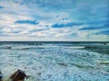 μπλε θάλασσα στοκ εικόνα