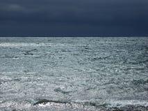 μπλε θάλασσα Στοκ εικόνα με δικαίωμα ελεύθερης χρήσης