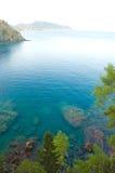 μπλε θάλασσα Στοκ Φωτογραφία