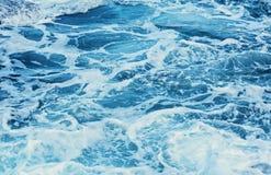 Μπλε θαλάσσιο νερό Aqua Στοκ φωτογραφίες με δικαίωμα ελεύθερης χρήσης