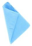 μπλε ιστός microfibre Στοκ Φωτογραφίες