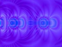 μπλε ισχύς Στοκ Φωτογραφίες