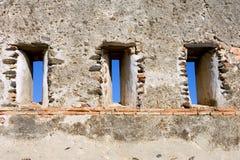 μπλε κάστρο που σπρώχνει τον τοίχο της Ισπανίας ουρανού Στοκ φωτογραφίες με δικαίωμα ελεύθερης χρήσης