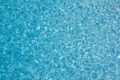 μπλε καθαρό ύδωρ ανασκόπη&sigma Στοκ Εικόνες