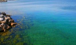 μπλε καθαρό ύδωρ Στοκ Φωτογραφία