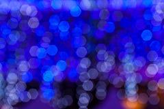 Μπλε και άσπρη ελαφριά θαμπάδα. Στοκ φωτογραφίες με δικαίωμα ελεύθερης χρήσης