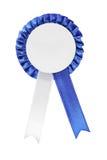 μπλε καλυμμένο κορδέλλ&alph Στοκ Εικόνες