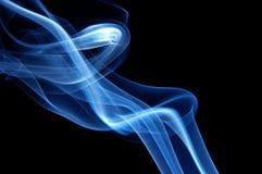 μπλε καπνός καθιερώνων τη &mu Στοκ φωτογραφία με δικαίωμα ελεύθερης χρήσης