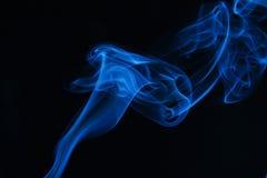 μπλε καπνός Στοκ Φωτογραφίες