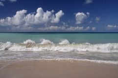 μπλε Καραϊβικές Θάλασσες Στοκ Εικόνα