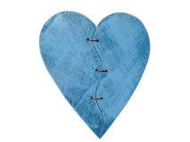 μπλε καρδιά Στοκ Φωτογραφίες