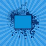 μπλε κενές διακοσμήσει&sig Στοκ εικόνες με δικαίωμα ελεύθερης χρήσης