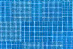 μπλε κεραμίδια μωσαϊκών Στοκ Φωτογραφίες