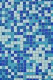μπλε κεραμίδι ανασκόπησης Στοκ Εικόνες