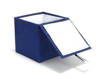 μπλε κιβώτιο Στοκ Εικόνες