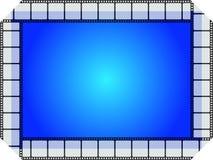μπλε κινηματογράφος πλαισίων απεικόνιση αποθεμάτων