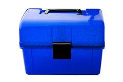 μπλε κλειστό makeup Στοκ Εικόνες