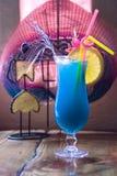 μπλε κοκτέιλ Στοκ εικόνα με δικαίωμα ελεύθερης χρήσης